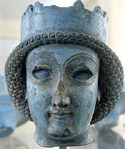 A rainha persa Atossa (550 a.C. - 475 a.C.), esposa de Dario, o Grande e mãe de Xerxes I.
