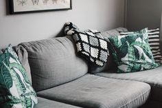 DIY - Virkad filt av mormorsrutor | Matildigt