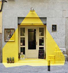 Intervención de Susana Piquer, Eleni Karpatsi y Julio Calvo en el restaurante Rayén #Madrid #yellow