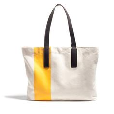 The Striped Tote Yellow at Everlane