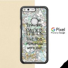 John Green Paper Towns Quotes Cover Google Pixel XL Case