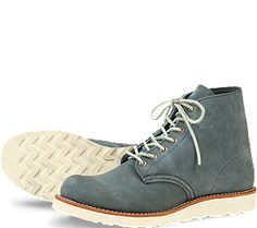 Red Wing boots for men, but I still dig the style and the color.