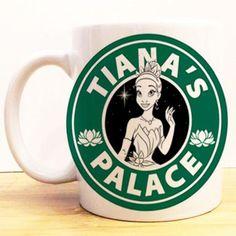 Tiana's Palace Coffee Mug | Princess and the Frog Starbucks | Disney Princess
