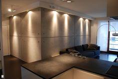 salon, beton architektoniczny - zdjęcie od Marek Niemczuk Architekci - Salon - Styl Nowoczesny - Marek Niemczuk Architekci