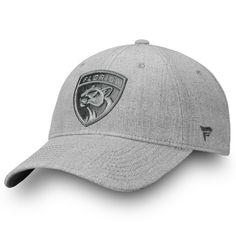 4da898b0e Men s Florida Panthers Fanatics Branded Gray Team Haze Adjustable Snapback  Hat