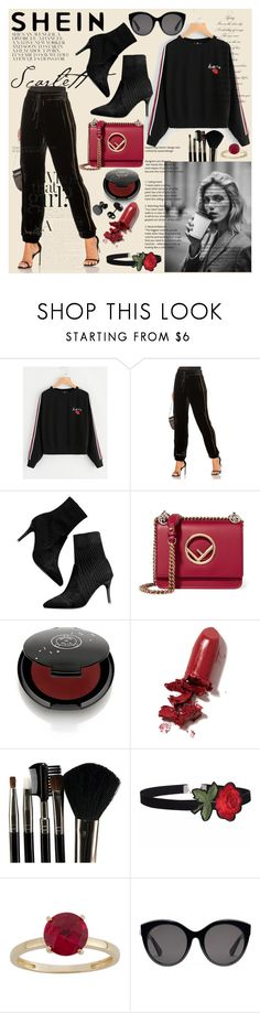"""""""Bez naslova #237"""" by sabina-mehic123 ❤ liked on Polyvore featuring Anja, ei8ht dreams, Fendi, Rituel de Fille, LAQA & Co., Glamour Status and Gucci"""