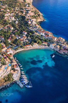 Assos, Kefalonia, Greece Santorini, The Good Place, Congratulations, Greece, Travel Destinations, Tourism, Landscape, Gallery, Beach