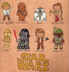 baby star wars