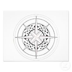 celtic compass rose