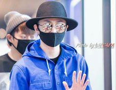 Junhyung - 150607 BEAST  Taiwan Airport