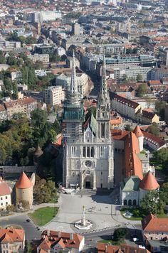 Zagreb, Croatia. #Croatia #Travel