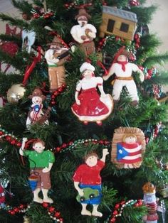 puerto rican recipes pr tree christmas tree design christmas themes christmas parties holiday decor christmas - Puerto Rican Christmas Decorations