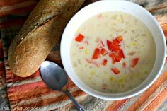 Spicy Corn Chowder R
