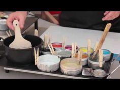 Vidéo : Introduction à la peinture à l'encaustique avec l'artiste Sophie Van Moffaert - l'Atelier Géant