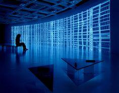 Code installations by Ryoji Ikeda