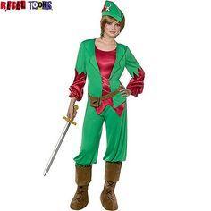 Disfraz de Peter Pan para adolescente