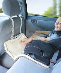 Another great find on #zulily! Gray & White Kenedy Catchie 3-in-1 Car Seat Mat #zulilyfinds