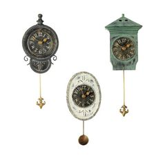 I love my pendulum clock.  The sound of it is comforting.  Especially at night, in the quiet. When it is all that I can hear.