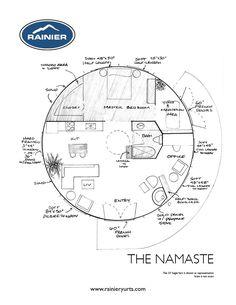 TheNamaste  from Rainier Yurts