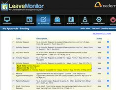 """Check out new work on my @Behance portfolio: """"Leave management software"""" http://on.be.net/1je5Hsg"""