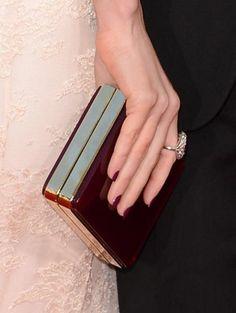Megan Fox Golden Globes Nails 2013   Primped