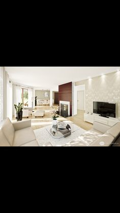 [ Beautiful Living Room Spaces Ultra Small Apartment Modern Interior Design Ideas Kitchen ] - Best Free Home Design Idea & Inspiration Comfortable Living Rooms, Small Living Rooms, Home And Living, Living Spaces, Modern Living, Minimalist Living, Modern Minimalist, Minimalist Interior, Living Area