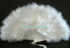 28 Leaves Dark Purple marabou Feather Fan A Quality