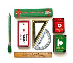 Stock Up Your Office  Vintage Office Supplies by becaruns