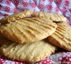 cookies au beurre de cacahuètes / peanut butter cookies