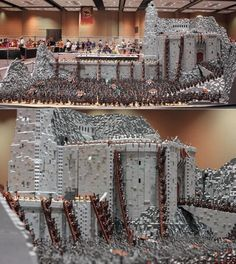 Helm's Deep done in Legos. Very impressive!