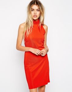 This bright orange bodycon is amazing for a summer holiday, perfect Ibiza dress! http://asos.to/1lWt0ou