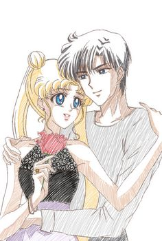 Sailor Moon: Usagi & Mamoru