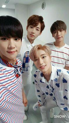 Suhyun, Sangho, Sebin & Sangil