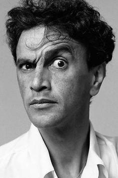 """Caetano Veloso em foto de 1988 para a """"Vogue"""""""