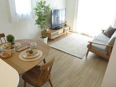 1LDKのお部屋にナチュラルコーディネートを提案!新婚カップルの新居のイメージで提案しました の画像|家具なび ~きっと家具から始まる家づくり~