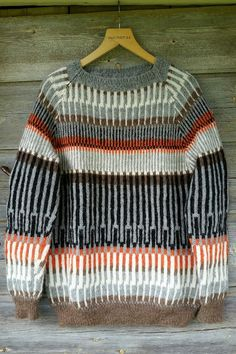 Tyg och otyg. Nordic Sweater, Fair Isle Knitting, How To Purl Knit, Textiles, Knitting Designs, Wool Sweaters, Knitted Hats, Knitwear, Knitting Patterns