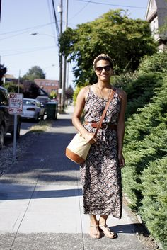 Hill Style   Floral Dress on 12th by jseattle, via Flickr