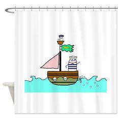 Jacque le Grand et Petits Filous Shower Curtain> Home & Travel> Big Phil Curtains, Shower, Cool Stuff, Big, Travel, Rain Shower Heads, Blinds, Viajes, Showers