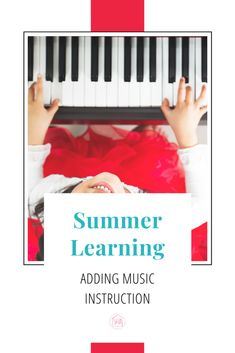 Summer Term Learning - Adding Music Instruction to our Routine - Simple. Home. Blessings