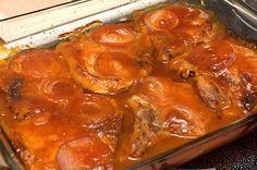 Côtelettes de porc au sirop d'érable | Doumdoum se régale