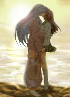 Inuyasha and Kagome.