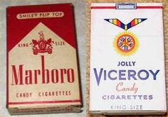 Remember candy cigarettes ?