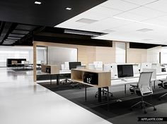 Techshed Office // Garcia Tamjidi Architecture Design design design and decoration house design Open Space Office, Office Space Design, Workspace Design, Office Interior Design, Interior Ideas, Design Offices, Corporate Interiors, Office Interiors, Design Studio