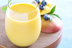 Crème de mangue à la vanille