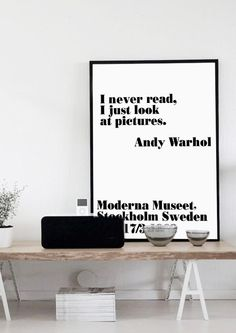 I never read I just look at Pictures Printable by PrintablePixel