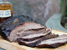 bonnie stern's smoked brisket w bbq sauce Bbq Grill, Grilling, Smoked Brisket, Italian Recipes, Cravings, Pork, Appetizers, Favorite Recipes, Dishes