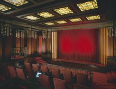 Home Theater- Velvet Curtains