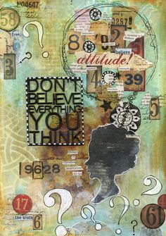 Don't believe everything you think - Scrapbook.com