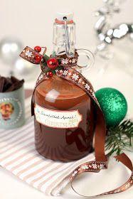 TeaRoom: Karácsonyi ajándék - Retro csokilikőr Homemade Christmas Gifts, Xmas Gifts, Homemade Gifts, Christmas Diy, Christmas Bulbs, Christmas Things, How To Make Drinks, Hungarian Recipes, Gourmet Gifts