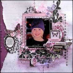 Kaisercraft - Violet Crush - Rachael Funnell